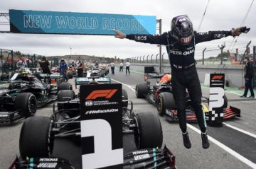 Hamilton ya es el piloto con más victorias en la Fórmula 1