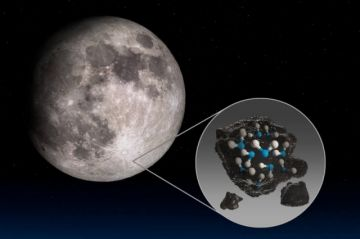 La Luna contiene más agua de lo que se creía