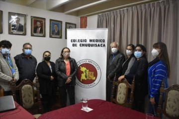 Colegio Médico de Chuquisaca denuncia presiones