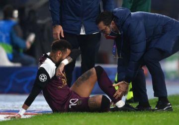 Neymar causa baja para los tres próximos partidos del PSG por lesión