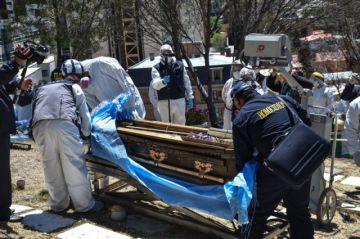 Fiscalía confirma que restos exhumados pertenecen a Jorge Clavijo