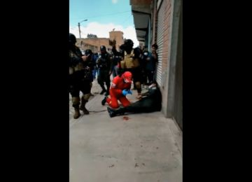 Dos policías heridos de bala en un atraco en El Alto