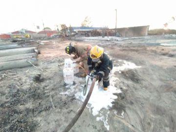 YPFB anticipa que daño provocado por incendio es de consideración
