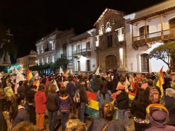 Plataformas ciudadanas marchan y se autoconvocan a un cabildo en Sucre