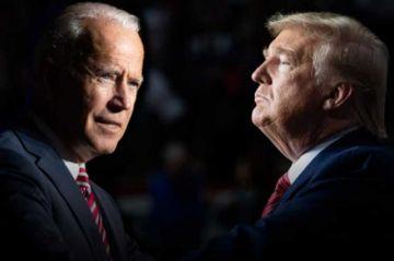 Biden suma 126 votos y Trump 80, según proyección de medios