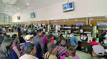 Sucre: Se demora el pago de impuestos con el descuento del 30%