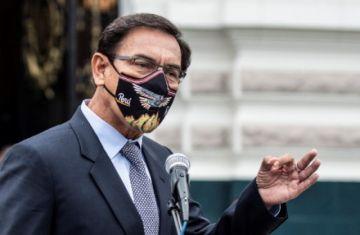 Vizcarra cuestiona legitimidad de nuevo gobierno peruano y llama a protestas pacíficas