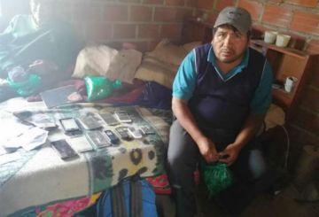 Justicia otorga detención domiciliaria a Faustino Yucra