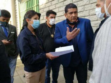 El presidente de la FBF se quedó en La Paz; está hospitalizado