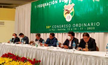 Presidente de la FBF obtiene acción de libertad y asiste al congreso federativo en La Paz
