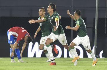 Bolivia gana al final del primer tiempo en Asunción