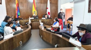 Alcaldía y Concejo confirman reunión con Choquehuanca para tratar ley de Elapas