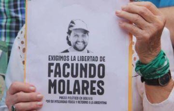 Ministro de Gobierno instruye quitarle las manillas a Facundo Molares