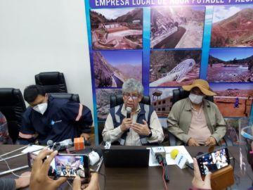 Sucre: Elapas activa Fisculco y dice que la dotación de agua está garantizada