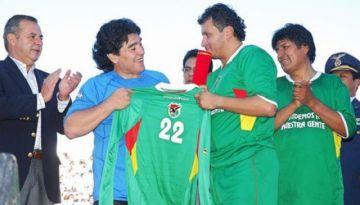 El Senado aprueba un homenaje póstumo a Maradona por su defensa de la altura