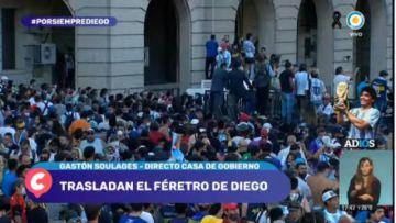 En vivo: Sigue el último adiós a Diego Armando Maradona