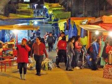 Sucre: El COEM suspende la Feria de Navidad ante un posible rebrote de contagios de covid