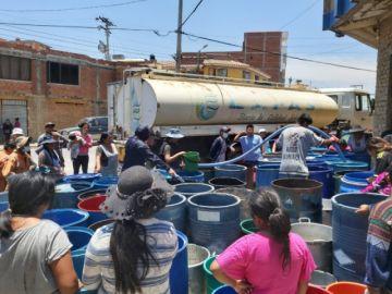 Declaran alerta naranja en Sucre por la escasez de agua en las zonas altas