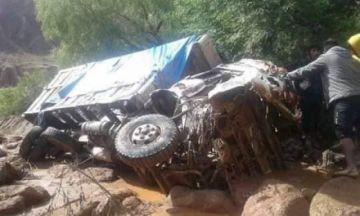 La Paz: Luribay está de luto por muerte de tres personas a causa de la mazamorra
