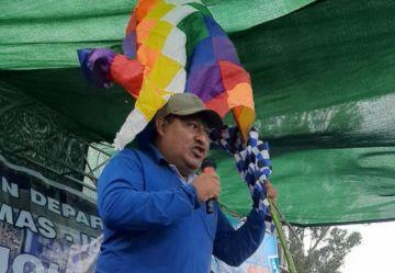 MAS proclama a Juan Carlos León como candidato a gobernador de Chuquisaca