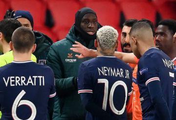 El mundo del deporte aplaude la interrupción del PSG-Basaksehir por racismo
