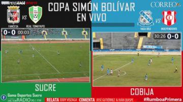 EN VIVO: Semifinales de la Copa Simón Bolívar