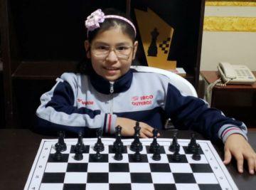 La boliviana Nicole Mollo juega este sábado en la fase final del Mundial de Ajedrez