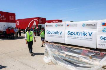 Llega a Argentina primer lote de 300 mil vacunas contra el covid-19 Sputnik V