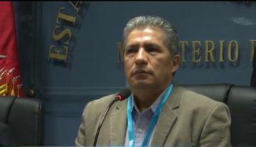 El Ministro de Defensa, Edmundo Novillo, da positivo para coronavirus