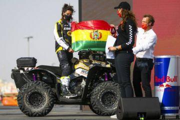 Leonardo y Suany Martínez ya corren en el Rally Dakar 2021