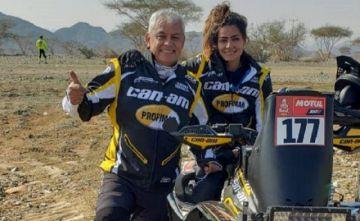 Dakar: Suany Martínez concluye la primera etapa en el puesto 12