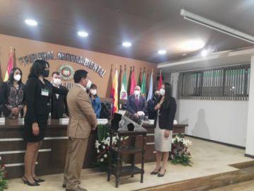 Elva Terceros jura como nueva presidenta del Tribunal Agroambiental