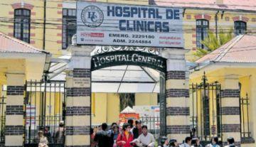 Policía reporta fallecimiento de mujer que esperaba atención en hospital de La Paz