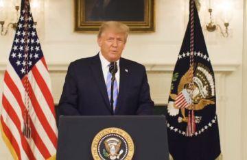 Trump llama a la reconciliación y promete una transición tranquila en EEUU
