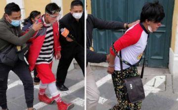 Envían a Qalauma a los payasos acusados de corrupción de menores
