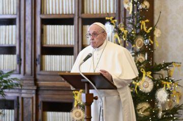 """El Papa anuncia que se vacunará """"la semana que viene"""" y denuncia """"negacionismo suicida"""""""