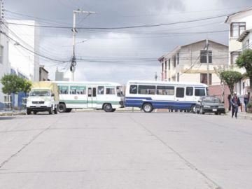 Sucre: El Sindicato San Cristóbal anuncia que bloqueará la ciudad el martes