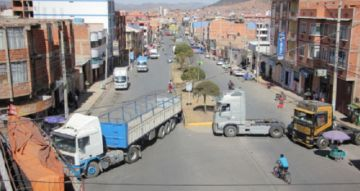 Revise los puntos de bloqueo del transporte para este martes en Sucre