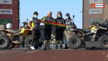 Los bolivianos Leo y Suany Martínez completan la travesía del Dakar