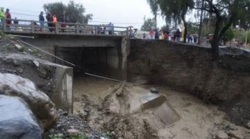 Cochabamba sufre por las lluvias: Un fallecido, casas inundadas y animales afectados