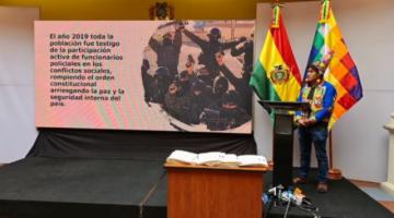 """El Gobierno procesa a 26 policías """"por arriesgar la paz y seguridad"""" del país en la crisis de 2019"""