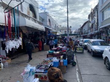 Vendedoras del mercado Central divididas en torno a las restricciones del COEM
