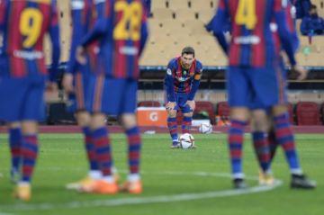 Dos partidos de suspensión a Messi por su roja en la Supercopa