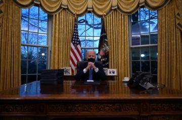 "Biden afirma que Trump le dejó una carta ""muy generosa"""