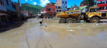 Guanay: 2.500 familias afectadas, 100 viviendas en riesgo de derrumbe y 78 colapsadas