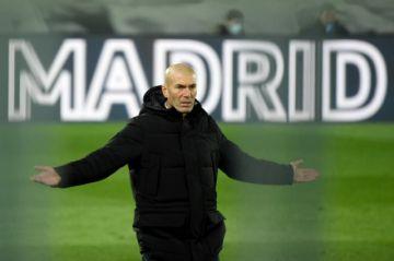 Zinedine Zidane, DT del Real Madrid, da positivo al covid-19