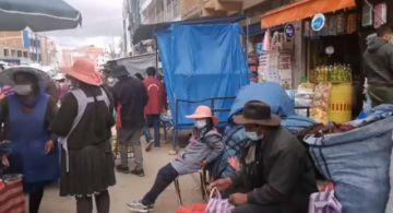 En Vivo: Comienza el control del uso obligatorio de barbijo en Sucre