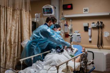 EEUU supera los 25 millones de casos registrados de covid-19