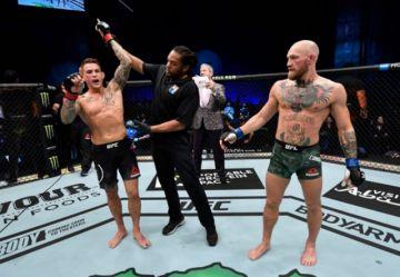 El regreso fallido de McGregor a la UFC, noqueado por Poirier