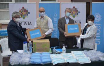 Unicef dona pruebas y suministros de bioseguridad para pueblos indígenas, maternológicos y centros médicos